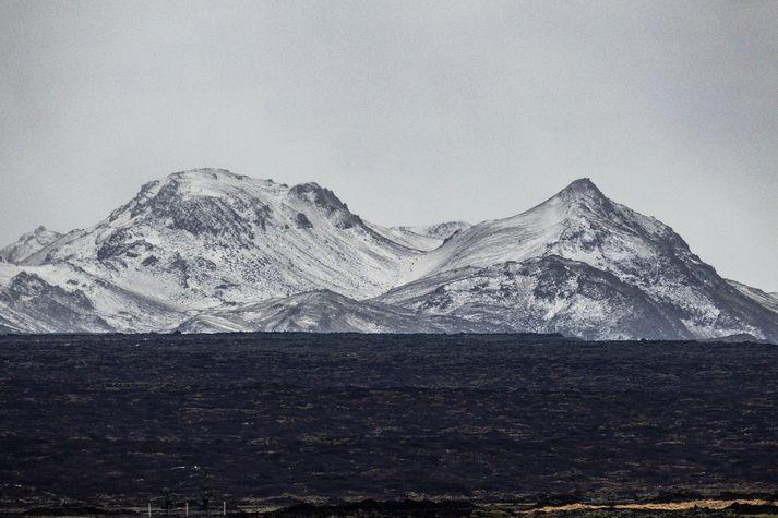 Skjálftinn var norðaustur af Trölladyngju.