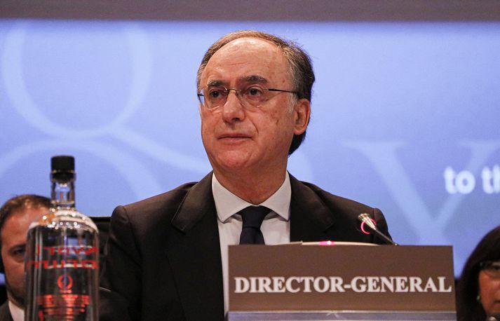 Fernando Arias, yfirmaður Efnavopnastofnunarinnar.