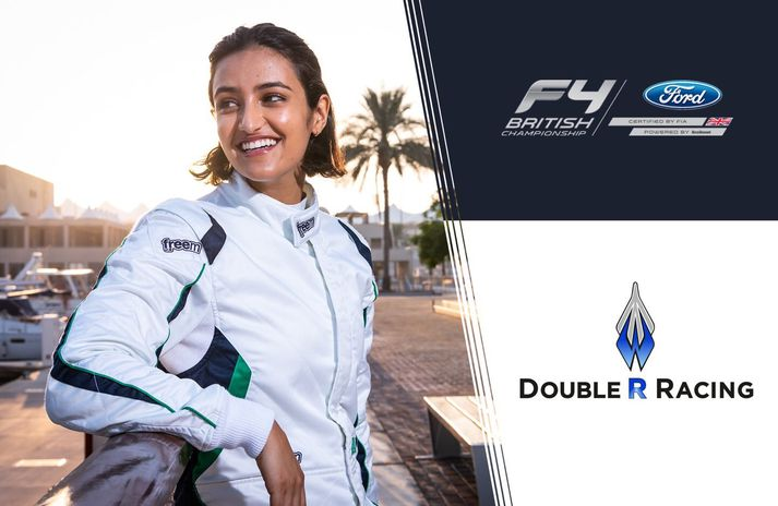 Reema Juffali er samningsbundin Double R Racing.