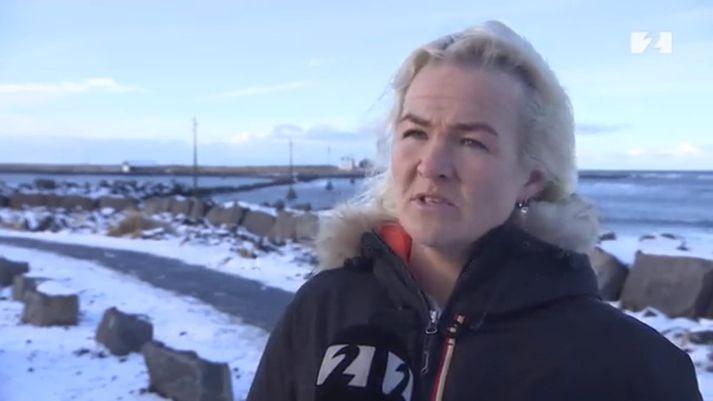 Heiðveig María Einarsdóttir var rekin úr Sjómannafélaginu í lok síðasta mánaðar