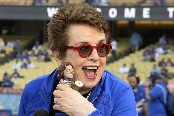 Billie Jean King er skemmtileg týpa.