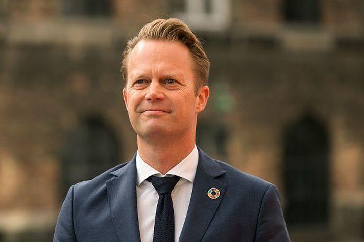 Jeppe Kofod, utanríkisráðherra Danmerkur.
