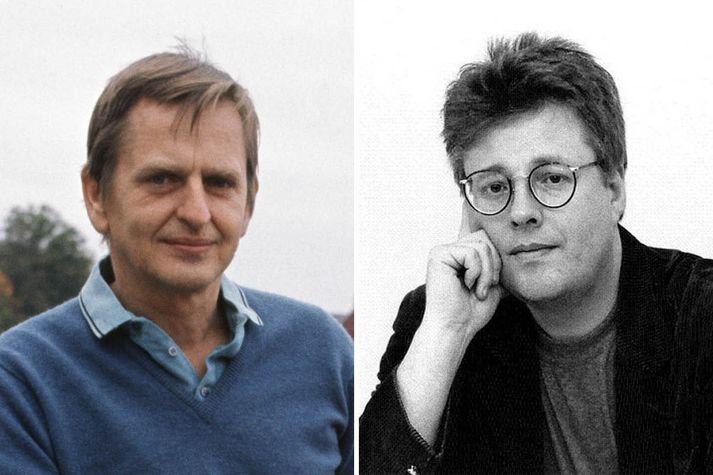 Stieg Larsson, hinn heimskunni, látni rithöfundur, hafi verið að rannsaka morðið á Olof Palme.