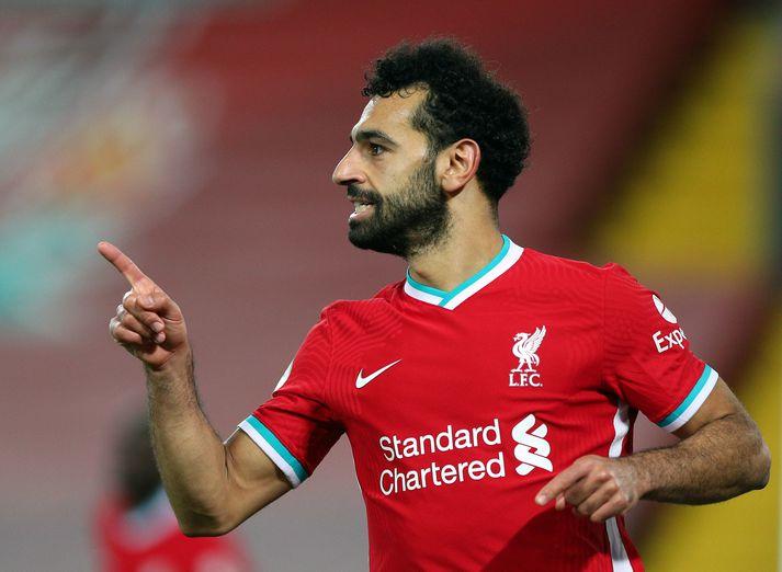 Mohamed Salah hefur skorað mörg falleg mörk á leiktíðinni til þessa.