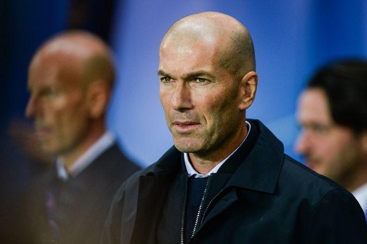Brúnaþungur Zidane.