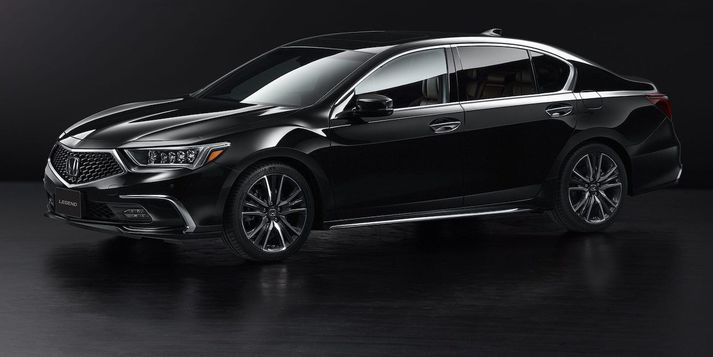 Honda Legend er fyrsti fjöldaframleiddi bíllinn sem nær þriðja stigs sjálfsaksturstækni.