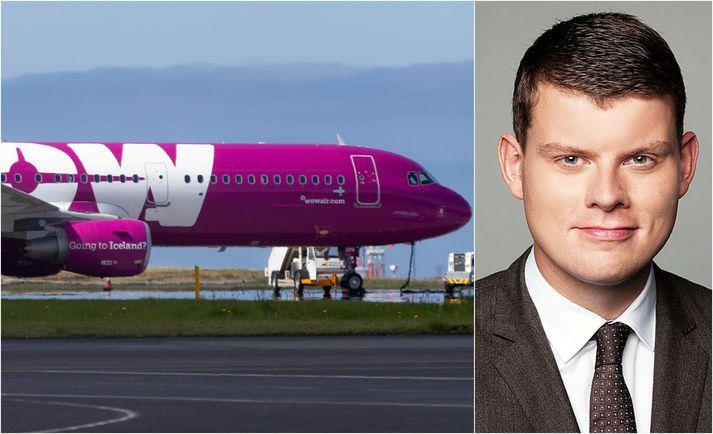 Stefán Einar Stefánsson fréttastjóri viðskipta á Morgunblaðinu hefur safnað heimildum og rætt við fjölda fólks um Wow air.