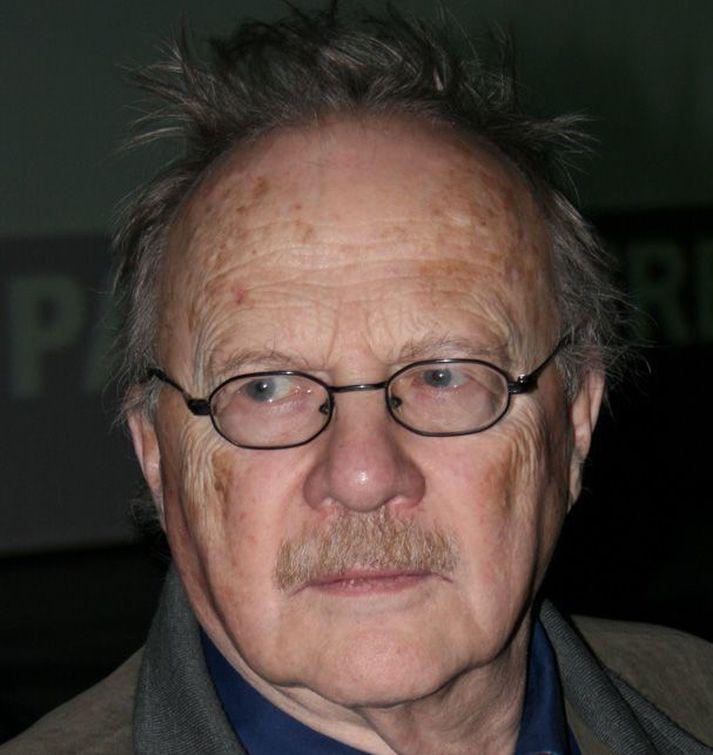 Jan Myrdal var einn afkastamesti rithöfundur Svíþjóðar.