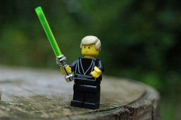 Lego-kallinn hefur lítið breyst í áranna rás.