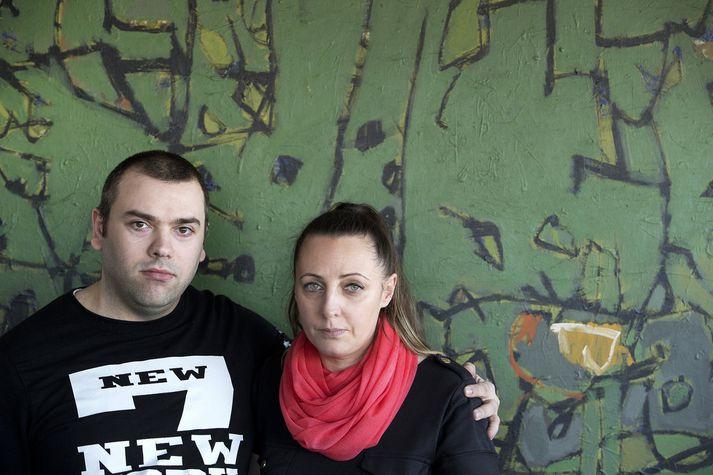 Arleta og Adam fluttu hingað til lands árið 2014 og eru nú búsett á Hellu.