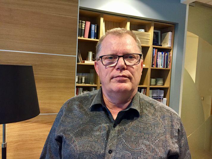 Þórir Garðarsson varaformaður stjórnar Samtaka ferðaþjónustunnar.