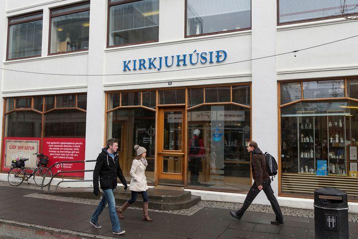 Biskupsstofa var til húsa við Laugaveg 31 þar til hún flutti í Katrínartún síðasta haust.