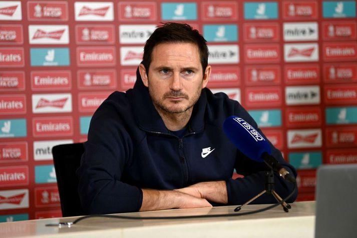Frank Lampard er hættur sem þjálfari Chelsea.