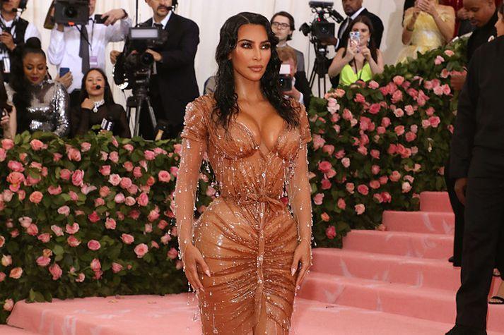 Kardashian hyggst tilkynna nýtt nafn bráðlega.
