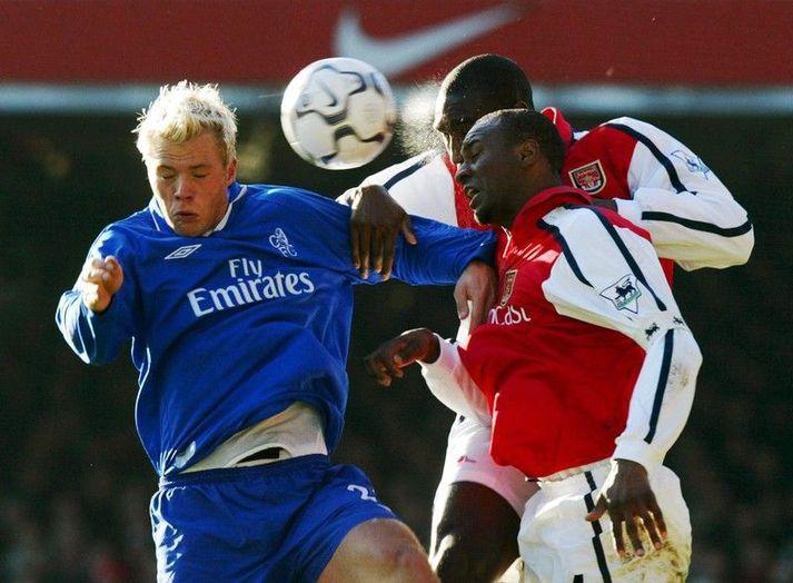 Chelsea sló hið ósigraða lið Arsenal úr leik í Meistaradeild Evrópu vorið 2004.