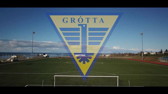 Grótta hefur beðist afsökunar á framferði stuðningsmanna liðsins.