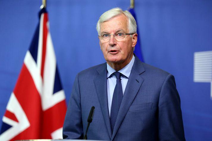 Michel Barnier segir ekki hægt að aðskilja reglur um viðskipti með vörur annars vegar og þjónustu hins vegar.