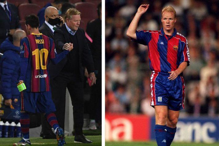 Ronaldo Koman þjálfar nú Barcelona liðið en hann lék á sínum tíma 264 leiki fyrir félagið á sex ára tímabili.