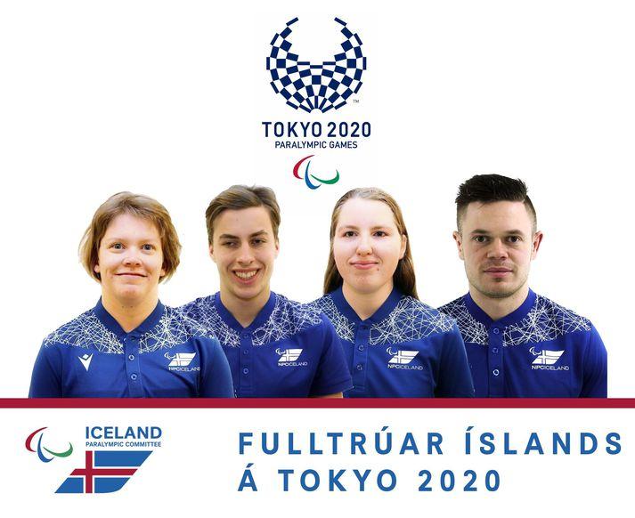 Thelma Björg Björnsdóttir, Már Gunnarsson, Bergrún Ósk Aðalsteinsdóttir og Patrekur Andrés Axelsson fara til Tókýó fyrir Íslands hönd.