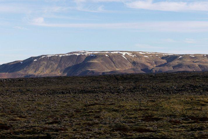 Ekkert lát er á skjálftahrinunni á Reykjanesi.