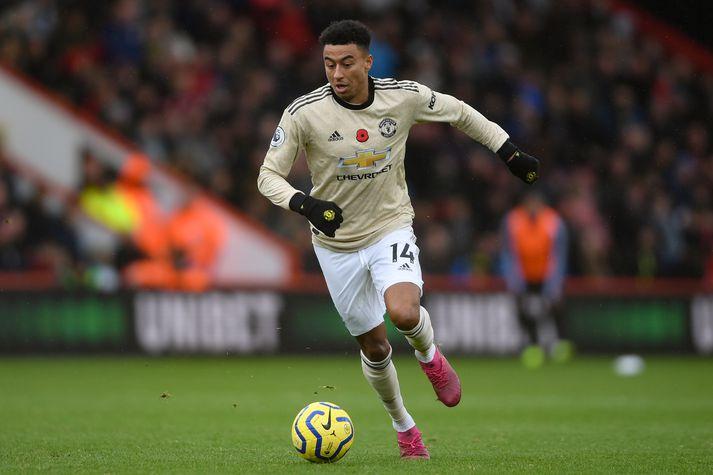 Lingard og félagar í Manchester United eru í 10. sæti ensku úrvalsdeildarinnar.