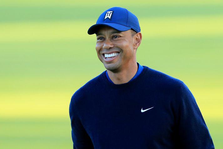 Tiger Woods hefur aldrei náð að fagna sigri á Genesis mótinu.