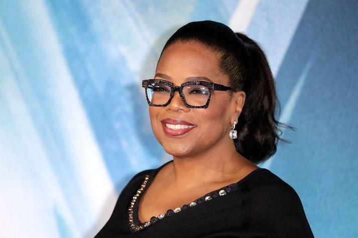 Sjónvarpskonan margslungna, Oprah Winfrey.