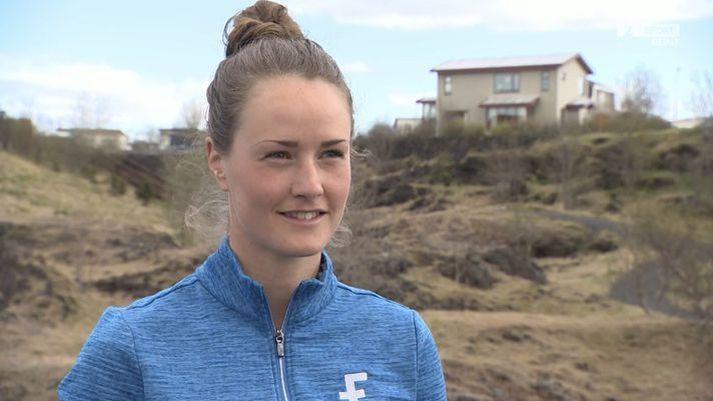 Guðrún Brá á titil að verja en hún er ríkjandi Íslandsmeistari golfi.
