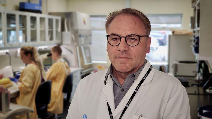 Karl G. Kristinsson, yfirlæknir Sýkla- og veirufræðideildar Landspítalans