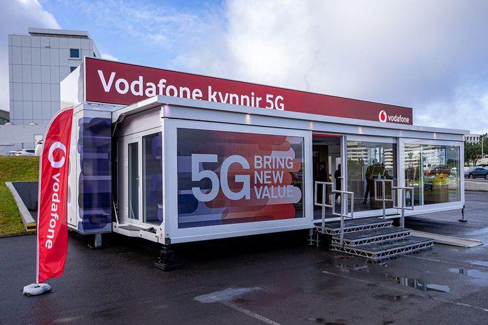 Í tilefni dagsins hélt Vodafone kynningu á 5G og tengdri tækni.