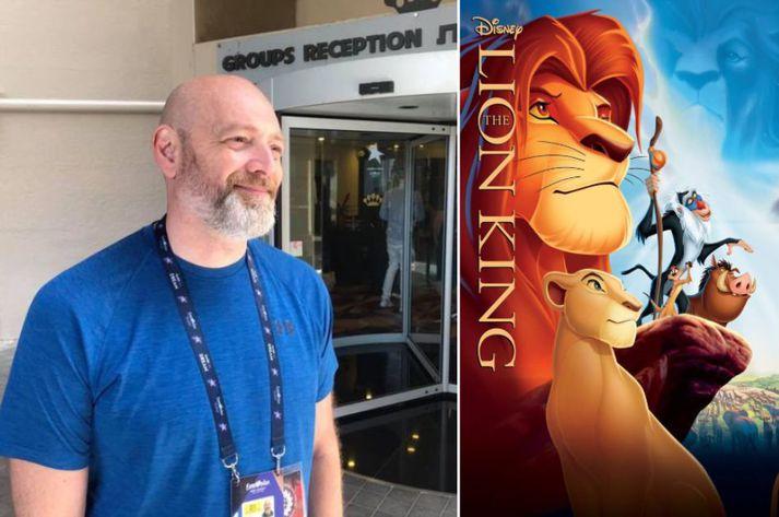 Felix Bergson hefur talað inn á fjölmargar Disney myndir.