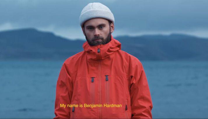 Benjamin hefur búið hér í fimm ár.