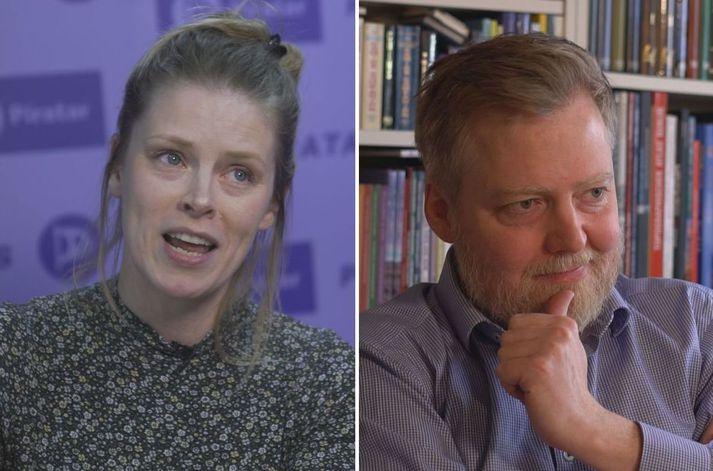 Arndís Anna Kristínardóttir Gunnarsdóttir og Sigmundur Davíð Gunnlaugsson.