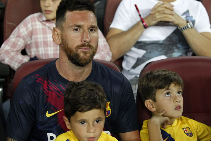 Lionel Messi er á meiðslalistanum hjá Barcelona.