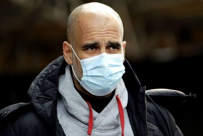 Pep Guardiola er búinn að bíða lengi eftir því að koma Manchester City alla leið í Meistaradeildinni.