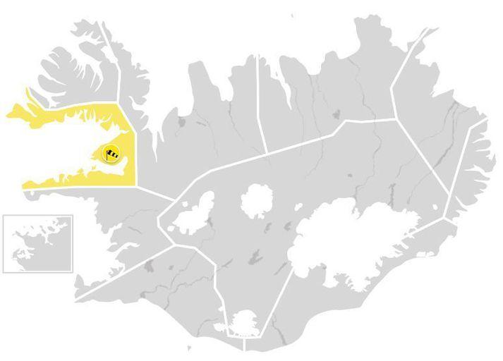 Hvassast verður á Snæfellsnesi.