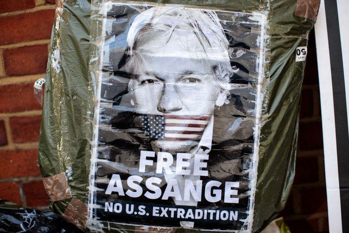 Julian Assange er stofnandi Wikileaks.