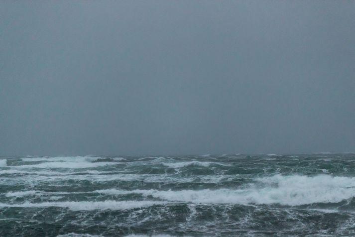 Reikna má með 15 til 23 metrum á sekúndu þar sem hvassast verður suðaustantil.
