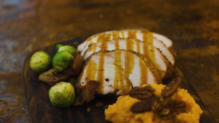 Girnileg grilluð kalkúnabringa að hætti BBQ-kóngsins.