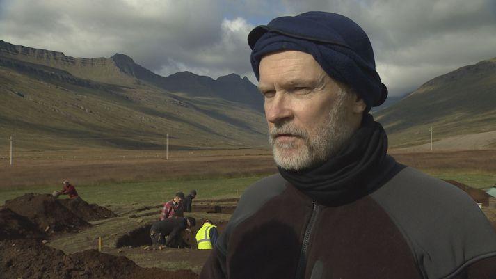 Bjarni F. Einarsson fornleifafræðingur hefur stýrt minjauppgreftri að Stöð í Stöðvarfirði undanfarin þrjú sumur.