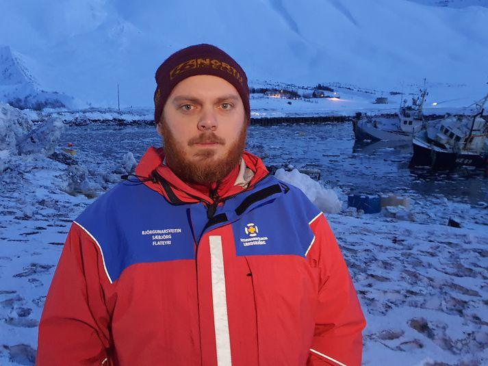 Magnús Einar Magnússon, formaður Sæbjargar á Flateyri.