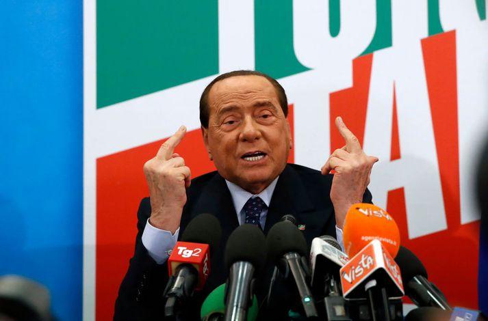 Silvio Berlusconi fær oftast það sem hann vill.