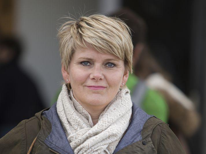 Ragnheiður Elín Árnadóttir fyrrverandi iðnaðarráðherra.