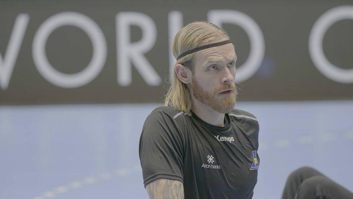 Björgvin Páll Gústavsson er klár í slaginn.