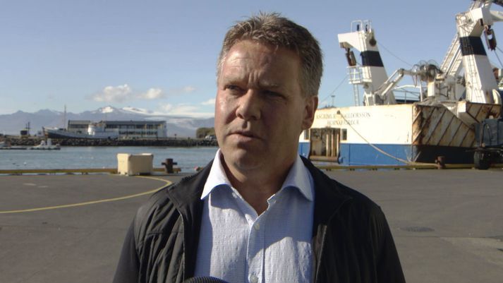Ásgeir Gunnarsson, framkvæmdastjóri veiða og vinnslu hjá Skinney-Þinganesi.