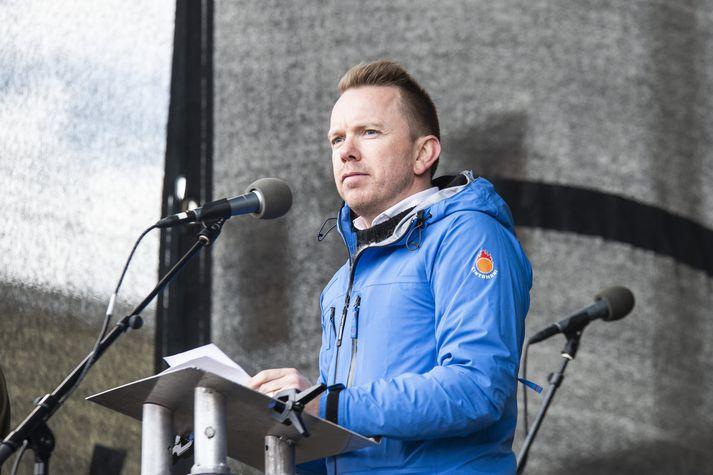 Ragnar Þór Ingólfsson, formaður Verslunarmannafélags Reykjavíkur. Fréttablaðið/Sigtryggur Ari