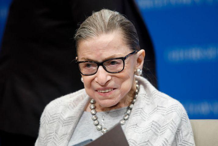 Ruth Bader Ginsburg er elsti hæstaréttardómari Bandaríkjanna.