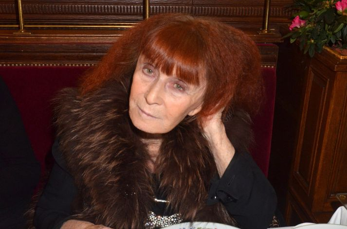 Sonia Rykiel árið 2012.