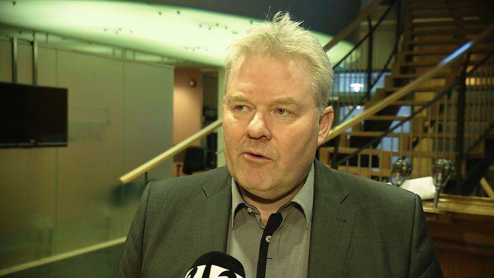 Sigurður Ingi Jóhannsson, ráðherra samgöngumála. Hann var forsætisráðherra þegar gildandi samgönguáætlun var samþykkt í október 2016.
