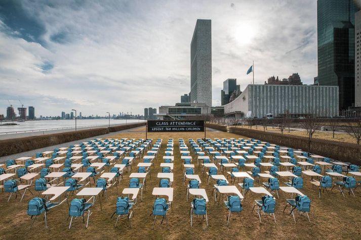 Innsetning UNICEF í New York